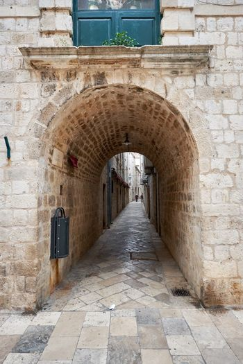 Arch Architecture Built Structure City Day Door Doorway Dubrovnik, Croatia Entrance History Indoors  No People The Way Forward Travel Travel Destinations