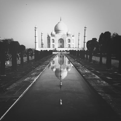 Blackandwhite Monochrome Discover Your City Tajmahal The Great Outdoors - 2017 EyeEm Awards