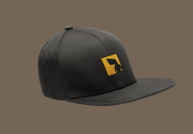 """- AND HERE IT IS, MY """"NOW I WILL ALWAYS BE WITH YOU BASECAP"""" FOR EVERYDAY USE - Logo Design Basecap  Blackcap Cap Close-up Clothing Copy Space Cut Out Hat Headwear Indoors  No People Single Object Still Life Studio Shot"""