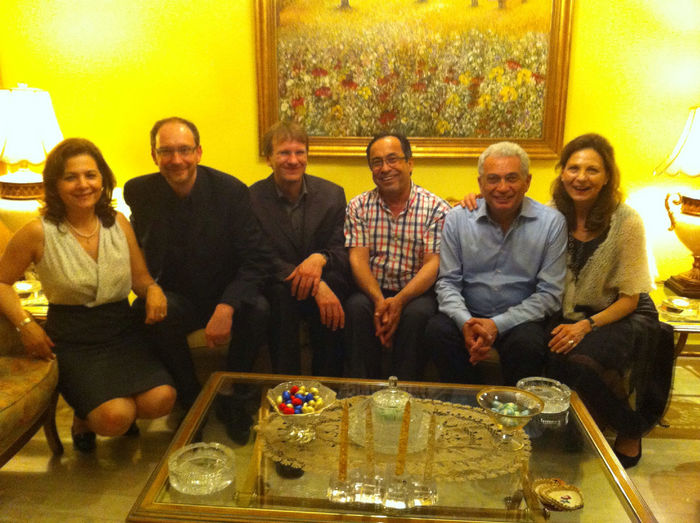 Samedi Soir With Prof. & Mrs. Antranakian  Prof. Hoffman And Dr. Grote