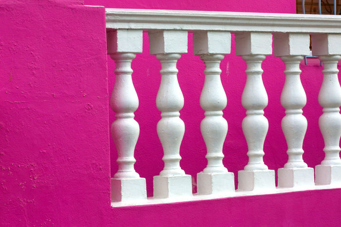 Architecture Balustrade Berry Bo-kaap Building Exterior Color Symmetry Wall
