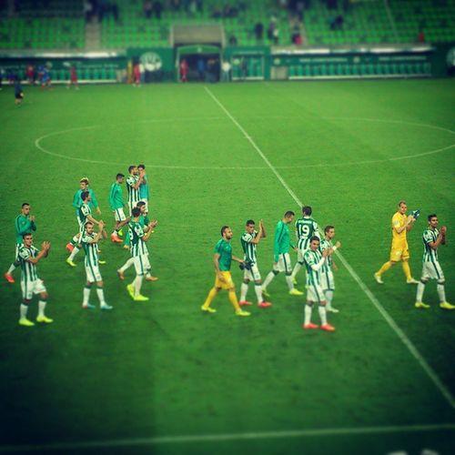 A győzelem a Ferencvárosé!!! Ferencváros FTC  Fradi Hajrafradi Zöldfehér 1899 Groupamaarena Football Gameday Match