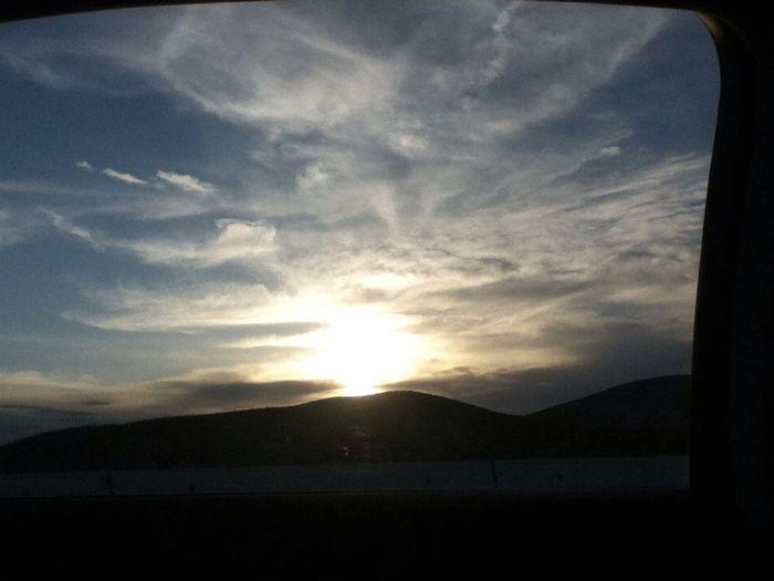 The sky !