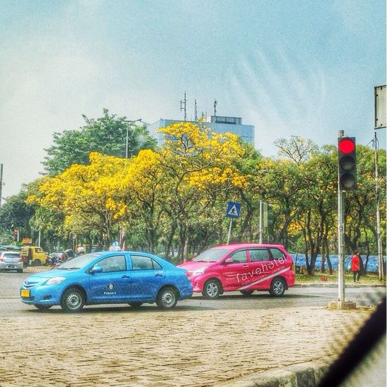 View from traffic at Cilandak Raya Street. A Place By ITag View By ITag The City I Live In