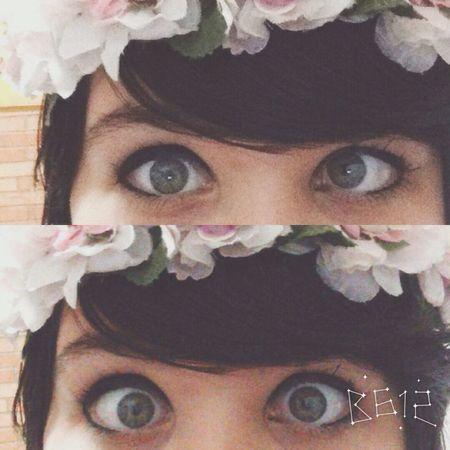 Flower Brazzang Eyes