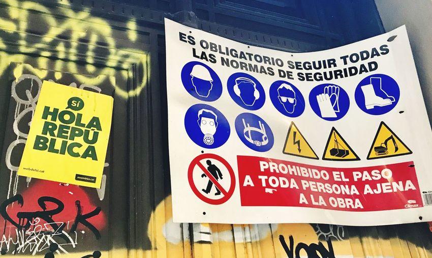 Referendum Spain Catalunya Patriotism Las Obras independencia Barcelona