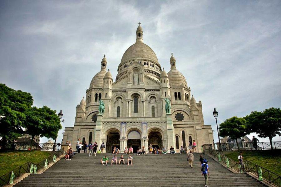 La Basilique Du Sacré Coeur De Montmarte Paris, France  Paris Je T Aime Paris Travel Photography Filipino Wanderlust Travelgram Church Architecture
