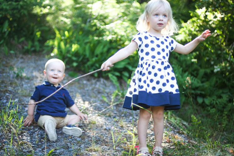 Children Photography Children's Portraits Childhood Nature Little Girl Little Boy Siblings