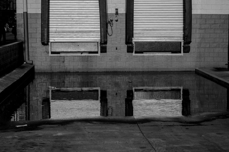 Reflection of a Window Absence Black And White Blackandwhite Photography Built Structure Empty Eye4photography  EyeEm Gallery Eyeem Philippines No People Perspectives Reflection Through The Window