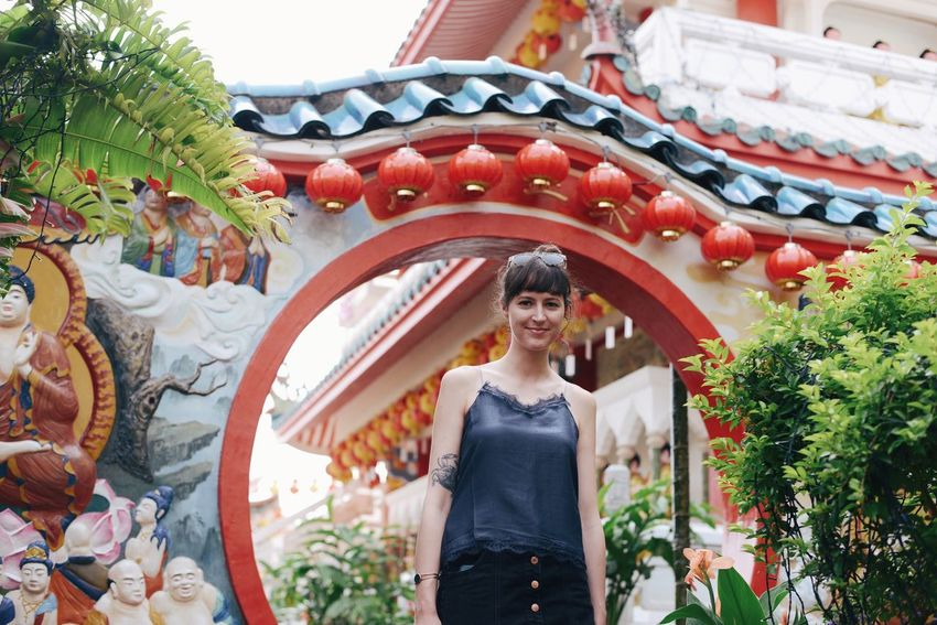 Kek Lok Si Temple Penang Buddhist Temple Adventures In The City One Person Women Architecture Plant Adult Standing Adventures In The City