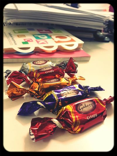 Self Reward Rewarding Myself Eating Chocolate Chocolate