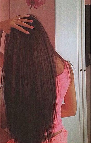 Long Hair Hair Hairstyle Nailpolish