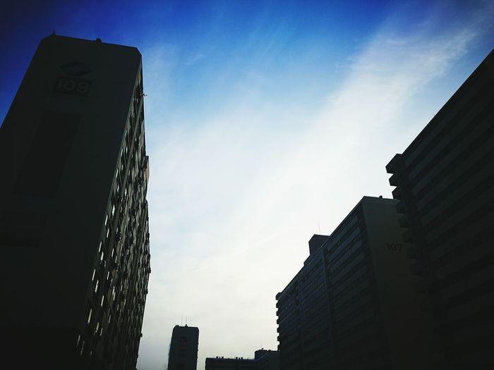 아침 하늘... 저 하늘처럼 푸르른 마음 갖자 First Eyeem Photo