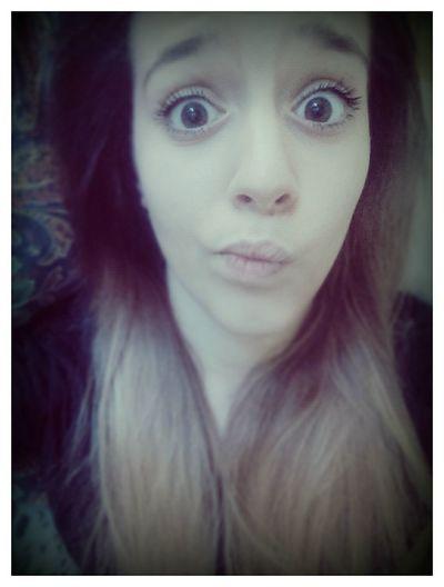 Myself That's Me Big Eyes Retrica