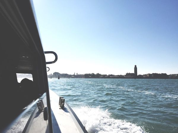 Arriving in Venedig ! Already a week ago! Time Is Running
