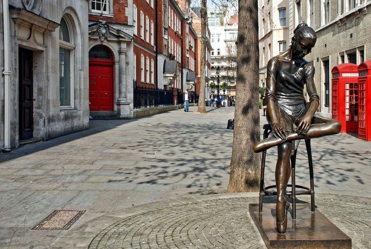 London Londres Street Danceuse