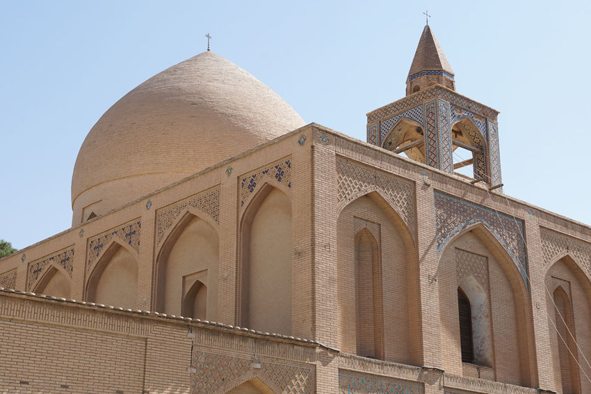 Vank Cathedral, Isfahan, Iran, Asia Architecture Building Exterior Built Structure Cathedral Central Asia Church City Day Esfahan Famous Place Iran Isfahan Middle East No People Outdoors Panorama Persia Sights Sightseeing Silk Road Tourism Tourist Attraction  Travel Travel Destinations Vank Cathedral