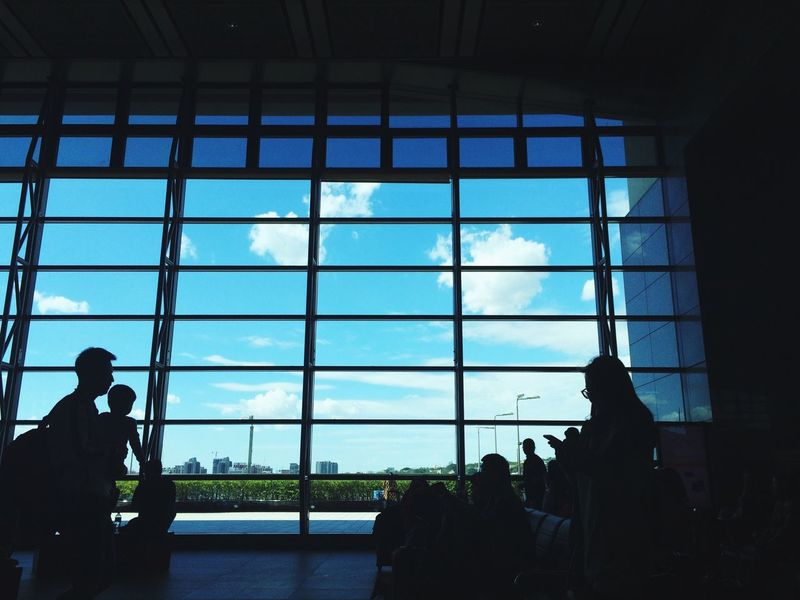 Station City Life Lifestyles Sky Clouds IPhoneography Taichung Taiwan