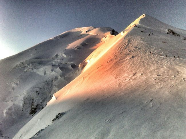 Mountains SunriseSnow Happy People Mt Blanc Climbing Morning Capture The Moment Its Cold Outside