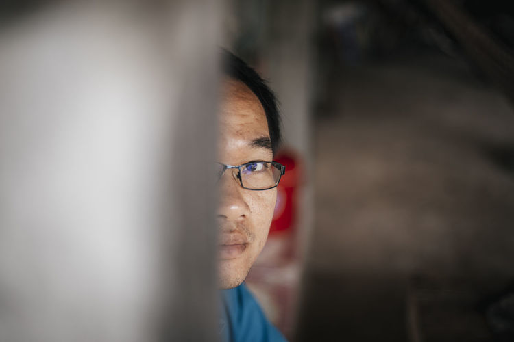 Portrait Eyeglasses  Headshot Glasses Selective Focus One Person Real People Indoors  Adult Mid Adult Looking Front View Young Adult Close-up Lifestyles Looking At Camera Males  Females Contemplation Human Face Eyeem 5 2019