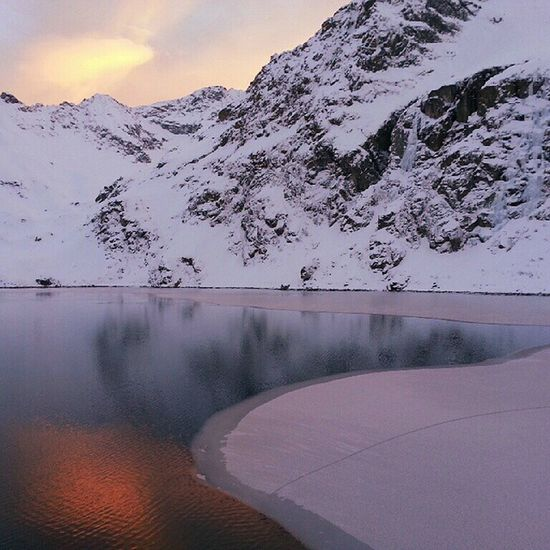 Sunset 2015  Goodplace Goodtime winter cold snow ice