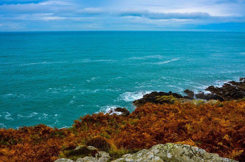 Horizon Over Water Beauty In Nature Sea Cloud - Sky Beach Coastline