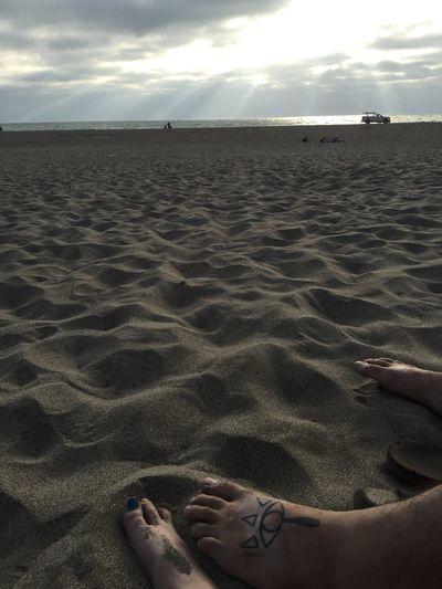 Rays of light San Francisco Zelda Ocean