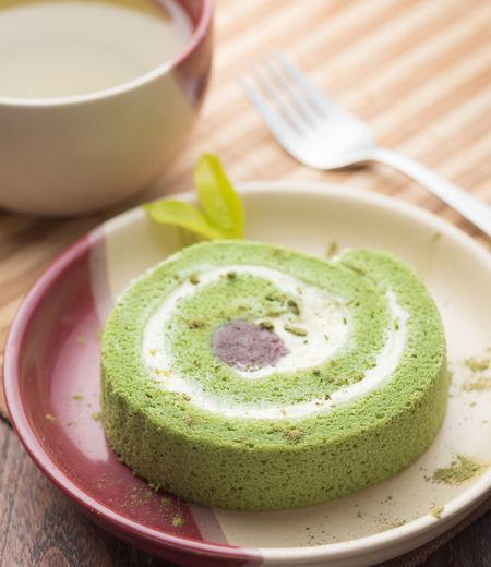 Cake Tea Green