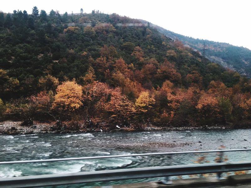 Runningaway Autumn River Beautiful Nature Beautiful Day Alone Time Amazing View PhonePhotography Albania