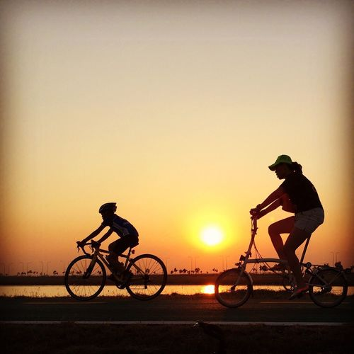 Bangkok Bike Sunset Greenway