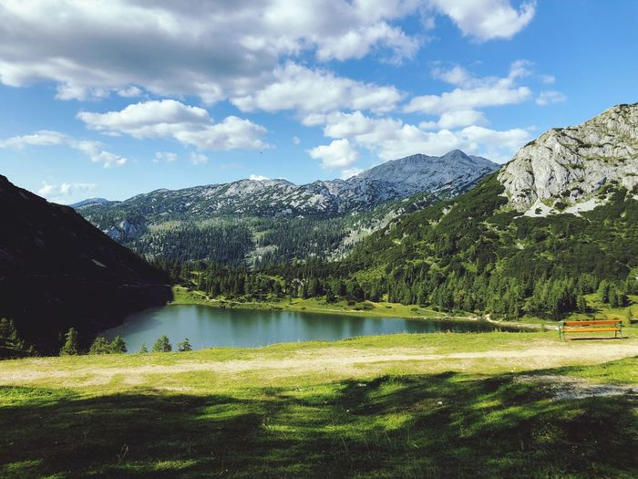 Tauplitzsee Bergsee See Sky Cloud - Sky Beauty In Nature Mountain Scenics - Nature Plant Water Outdoors Lake