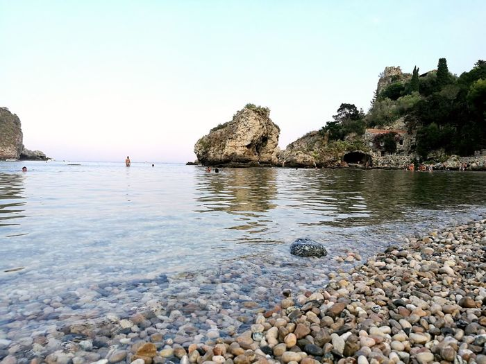 Beach Sea Water Tranquil Scene Tranquility Beauty In Nature Archipelago No Filter, No Edit, Just Photography Tranquility Summer Taormina Nature Sicily Beautiful View NoFilterNoEdition Beautiful Day Travel Destinations No People Nature Beauty In Nature Tourism Italy🇮🇹 Point Of View Summer Views Beautiful Colors Summer Exploratorium The Traveler - 2018 EyeEm Awards