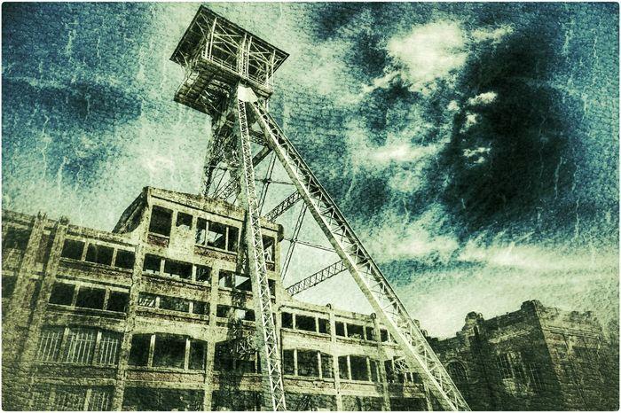 Genk Koolmijn Abandoned Buildings Mine Grunge Belgium 2015