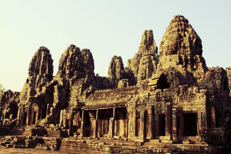 Angkor Thom at Siem Reap, Cambodia Angkor Thom