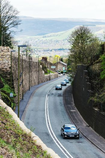Car Road High Angle View Day Outdoors Architecture Mottram Longdendale Roe Cross Mottram Moor Frog In The Wall Driving Road The Street Photographer - 2017 EyeEm Awards
