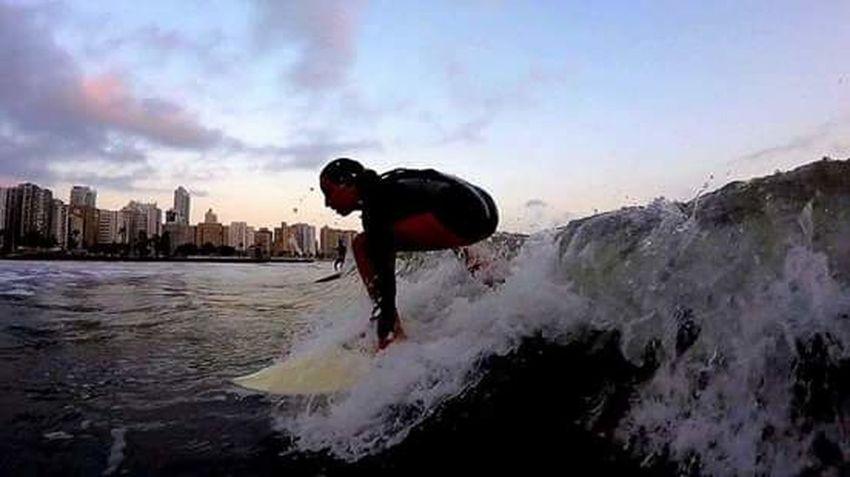 Imuah430 Sunset Sea 18-030 Aloha Santos Oceanatlantic Goprohero+lcd Gopro ILoveWater Surf Surf's Up Waves Mahalo Fotografiaaquatica