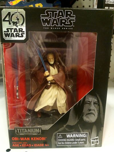 40th anniversary Star wars #thedarkside #jedi #actionfigure #obiwankenobi Text Day No People Outdoors Close-up