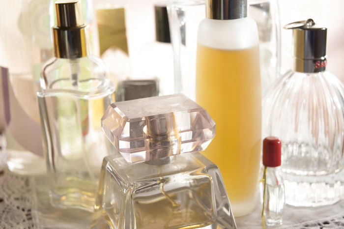 charm appeal and beauty with variety of perfumes Appeal Beauty Bottles Charm Class Console Elegance And Class Elegance Beauty Fragrances Parfume Perfume