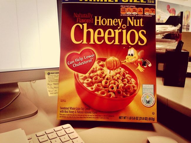 Cheerios Graphic Designer