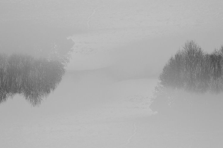 #Exceptional Photographs #Nature  #simplebeauty #snow Beauty In Nature Foggy Idyllic Landscape Tranquil Scene Tranquility