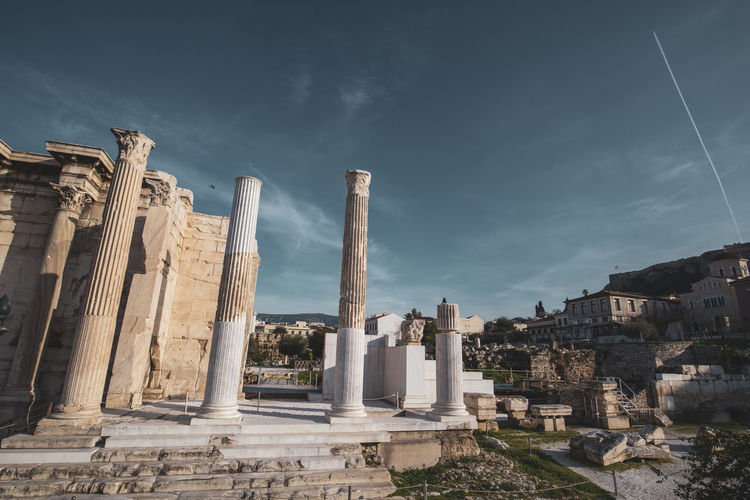 Athens Athens Greece Athens, Greece Architecture Sky History Built Structure Ancient The Past Cloud - Sky Old Ruin Architectural Column Nature Building Ancient Civilization No People Day Building Exterior Travel Destinations Religion Place Of Worship Memorial Solid Archaeology Outdoors Ruined