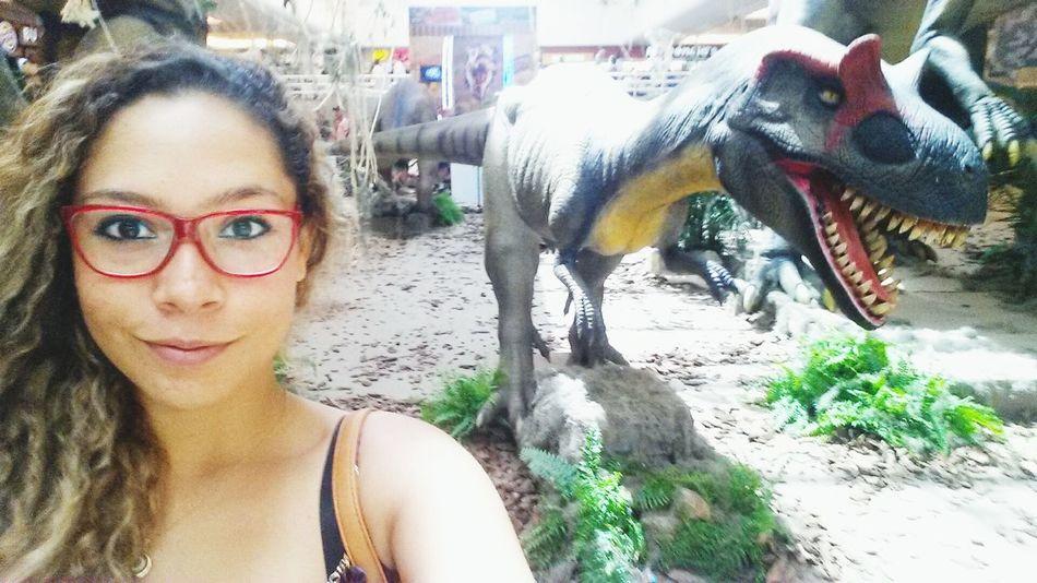 aaaaaaah um dinossauro ? help kkkk Riopretoshopping RioPreto
