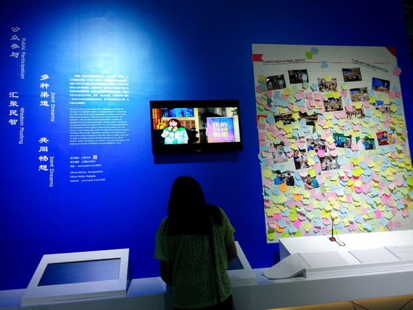 Adventure Blue China Exploring Participation Post Its Travel Urban Planning Wall