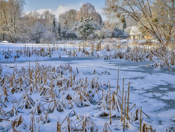 Beauty In Nature Büren, Day Ice Landscape_photography Nature Outdoors Snow Wintertime