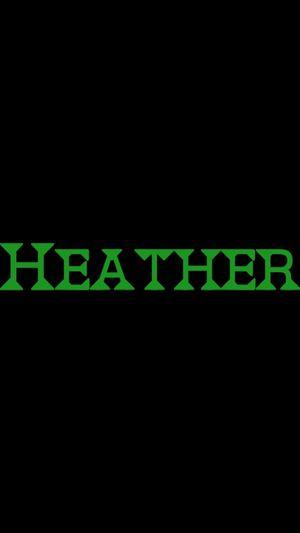 All Heather