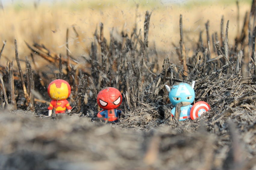 Aridity Cartoon Farmer Forest Full Frame No People On Fire Super Hero