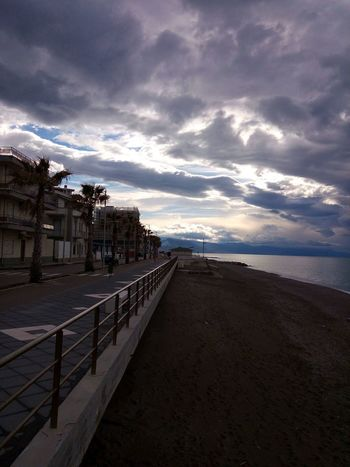 Capo D'Orlando Sicily, Italy Sea And Sky Sea Life Daylight Photography Light And Shadow Cloud - Sky Landscape No People Outdoors Water Sunset Sky Beauty In Nature Day Sea Nature