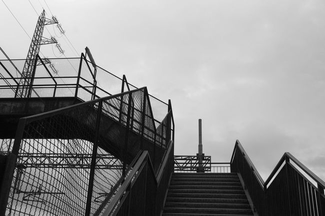 Architecture Building Exterior Built Structure Day Low Angle View No People Outdoors Railing Sky Staircase Steps Steps And Staircases The Street Photographer - 2017 EyeEm Awards Tales Of Another