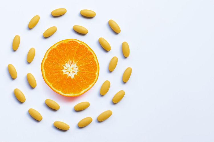 Vitamin C pills