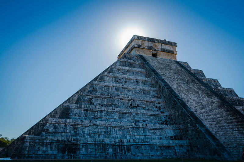 A taste of Mayan Chichen Itza EyeEm Best Shots EyeEm Selects EyeEmNewHere Mayan Mexico Ancient Ancient Civilization Archaeology Architecture Blue Building Exterior Built Structure Clear Sky Day History Low Angle View Nature No People Pyramid Sky The Past Travel Travel Destinations